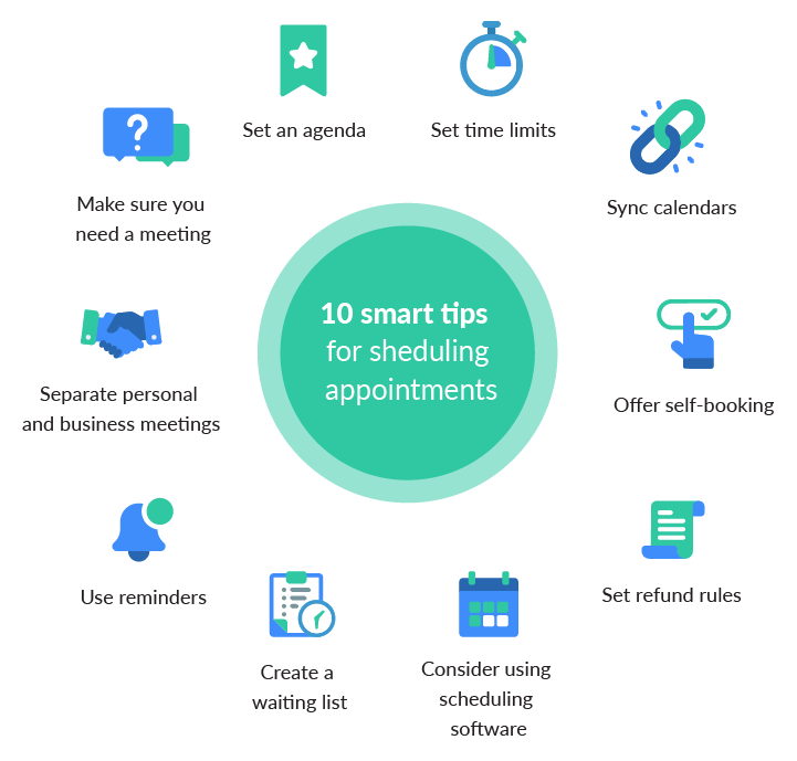 smart tips for scheduling