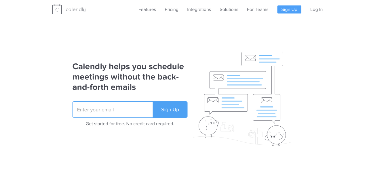 Consulting software: Calendly