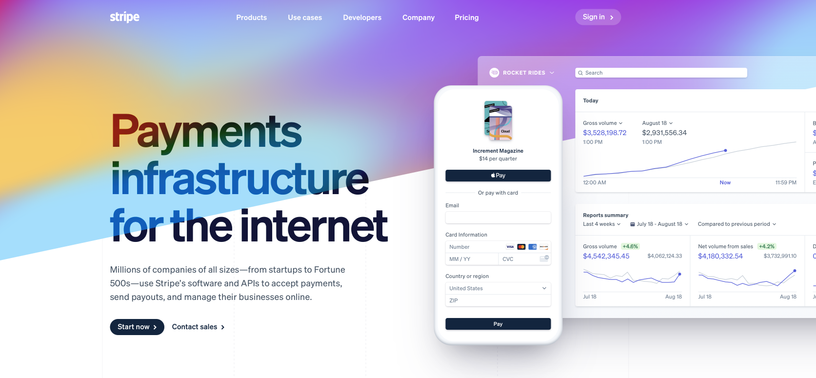 Consulting software: Stripe