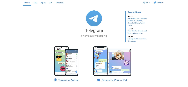 Consulting software: Telegram