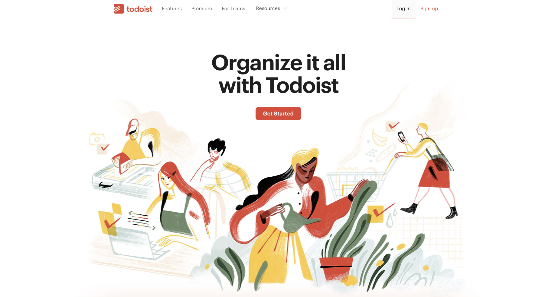 Consulting software: Todoist