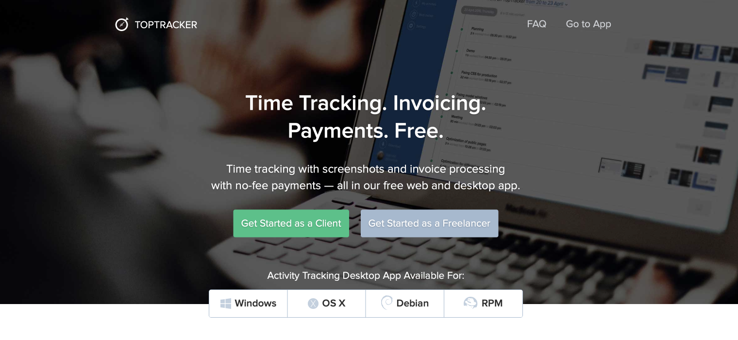Consulting software: TopTracker