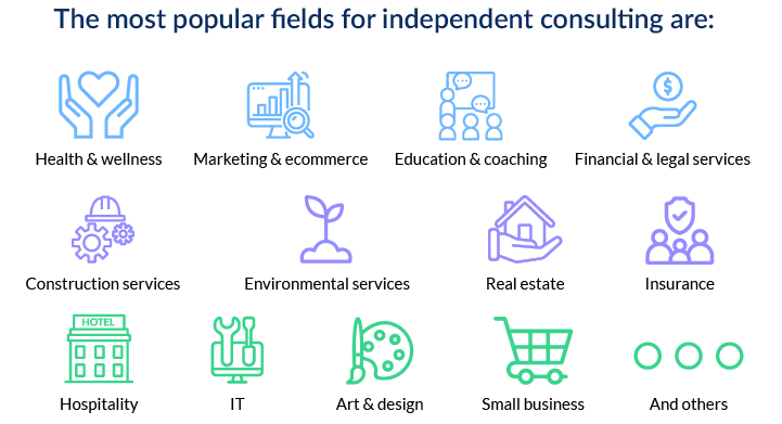 Who is an independent consultant?