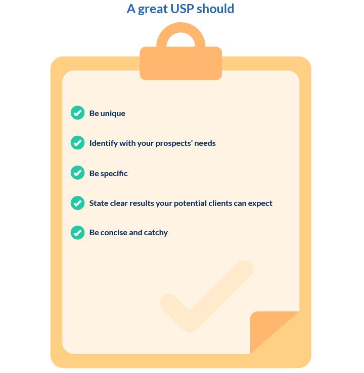 A great USP checklist