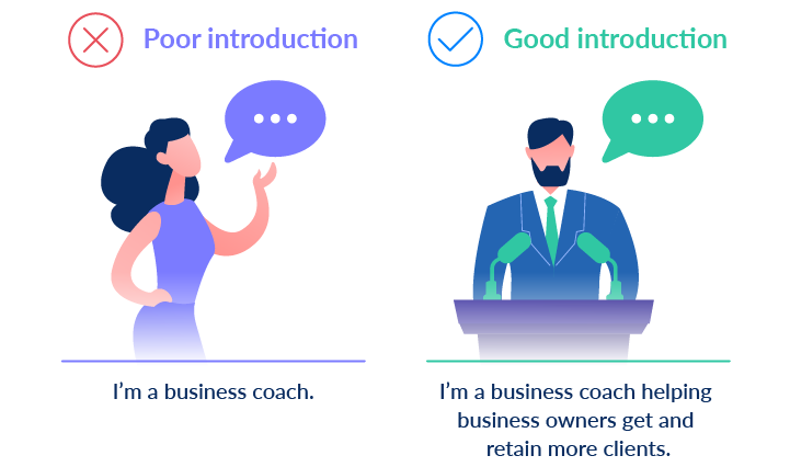 poor vs good introduction